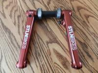 I have a set of stolen (brand) sic bmx cranks in red