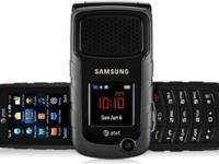 My Samsung Rugby 2 flip phone, as imagined over, was