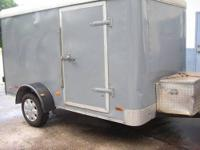 Looking for a stolen trailer, stolen about a year ago,