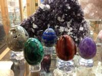 Stone Eggs From All Over The World Pictured Here: