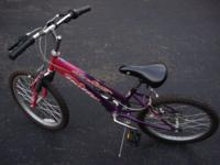"Huffy ""Stone Mountain"" girl's 20"" 6-speed bicycle,"