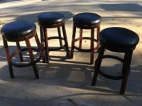 I have 4 nice bar or table stools. Very sturdy and