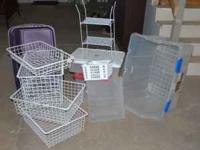 Misc. storage and totes $3.00 each I will pull the