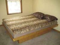 Have Queen size Storage Bed for sale in good