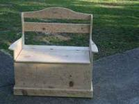 for sale i make these storage box seats as a