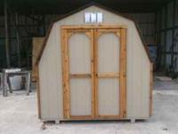 call me @ .this is an 8x8x8 barn with cedar trim good