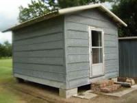 Storage Building (on Blocks)   $2000 (Indian Bayou,.