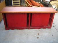 "Have a storage cabinet for sale, is approx 74"" wide,"