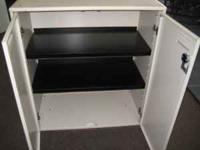 We have many types and brands of storage cabinets on