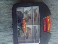 like new storage case for hot wheels type cars. for