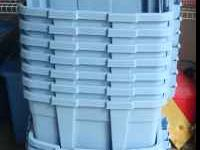 lot of storage containers and lids all for $15 4