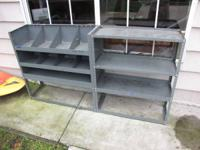 Selling a good condition storage rack we removed from