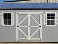 10'x16' Side Utility Storage Shed, portable building,