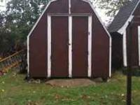 8x12 storage shed, needs little paint, solid, $250 obo