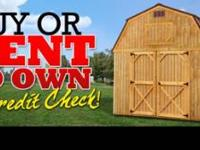 We offer cabins, sheds, barns and much more for a low