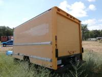 Yellow storage trailer removed from one of our trucks.