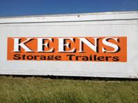 Keens Storage Trailers and Containers, based in