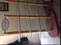 I have a set of 5 retail display racks for sale, four