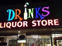 **************************DRINKS LIQUOR STORE ----1ST