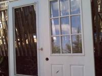 I have a nice storm door and front door (package deal