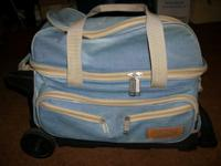 Storm Denim 2 Ball Rolling Bowling Ball Bag This bag
