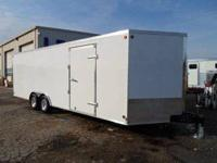 Stock 19133 Type Code CTST Type Enclosed Car Trailer