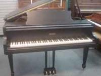 "Really nice Story & Clark 4' 7"" baby grand, perfect for"