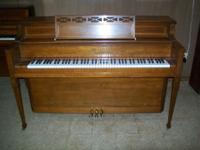 Story & Clark Console Piano completely reconditioned