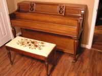 STORY & CLARK CONSOLE PIANO Lightly used Story & Clark