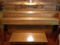STORY & CLARK spinet piano, Serial # 288821,