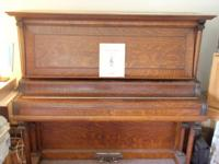 Story & Clark upright piano.No scratches.Will move to