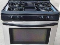 "Frigidaire Stainless Steel Gas Stove 30"" MOD#FGF366BCB"