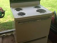 have for sale a westinghouse range. I no longer require