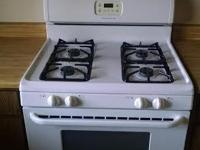 Frigidaire GAS stove & above stove microwave set. Both