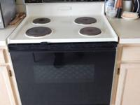 I have a four burner stove and oven for sale, works