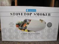 Stovetop smoker - Professional Quality Stainless Steel