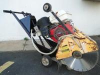 "STOW 14"" Walk Behind Concrete Cement Asphalt Saw Slicer"