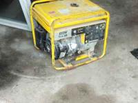 useable condt runs good 4500 watts thank you  Location: