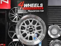 Brand name brand-new for a set of 4 wheels!  Size: