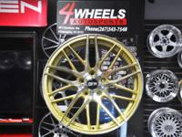 Brand name new for a set of 4 wheels!  Size: 18x8.5.