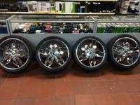 Strada Wheels Forchetta LUXURY - 22 inch  Chrome Rims 5