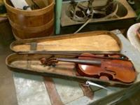 Stradovarius Violin With Case and Bow Germany Copy