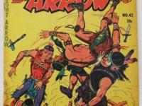 STRAIGHT ARROW# 42 (1955) GOLDEN AGE ME (Magazine