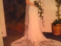 Brides Mart Wedding Gown size12 Needs to be