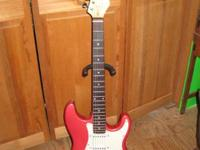 Nice full size Strat knock off, nice guitar with good