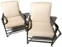 Strathwood St. Thomas Cast-Aluminum Deep-Seating Arm