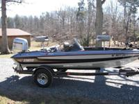 stratos bass boat for sale $8,500 honda 4stroke