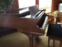 This 1928 Straube piano is in excellent playing