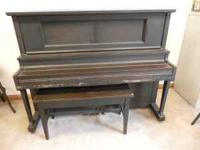 We don't know much about the piano but it is a Straube