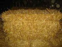 I have around 1200 bales of straw that were made July